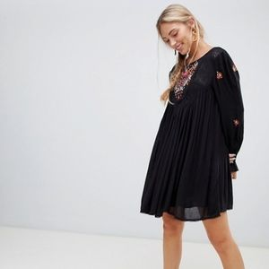 Free People Mohave Embroidered Dress NWT!